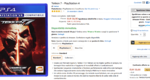 tekken 7 playstation 4 compra su amazon