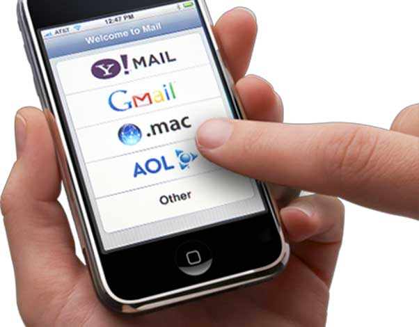 Configurare Mail con iPhone