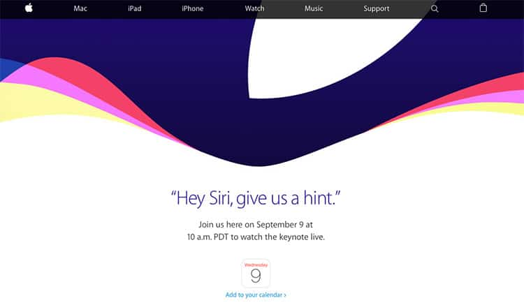 Evento Apple 9 Settembre 2015: Presentazione iPhone 6S