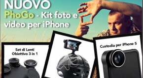 Kit Foto e Video Per iPhone PhoGo Di Proporta