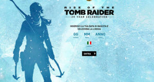 Rise of The Tomb Raider 20 Year Celebration Limited Playstation 4